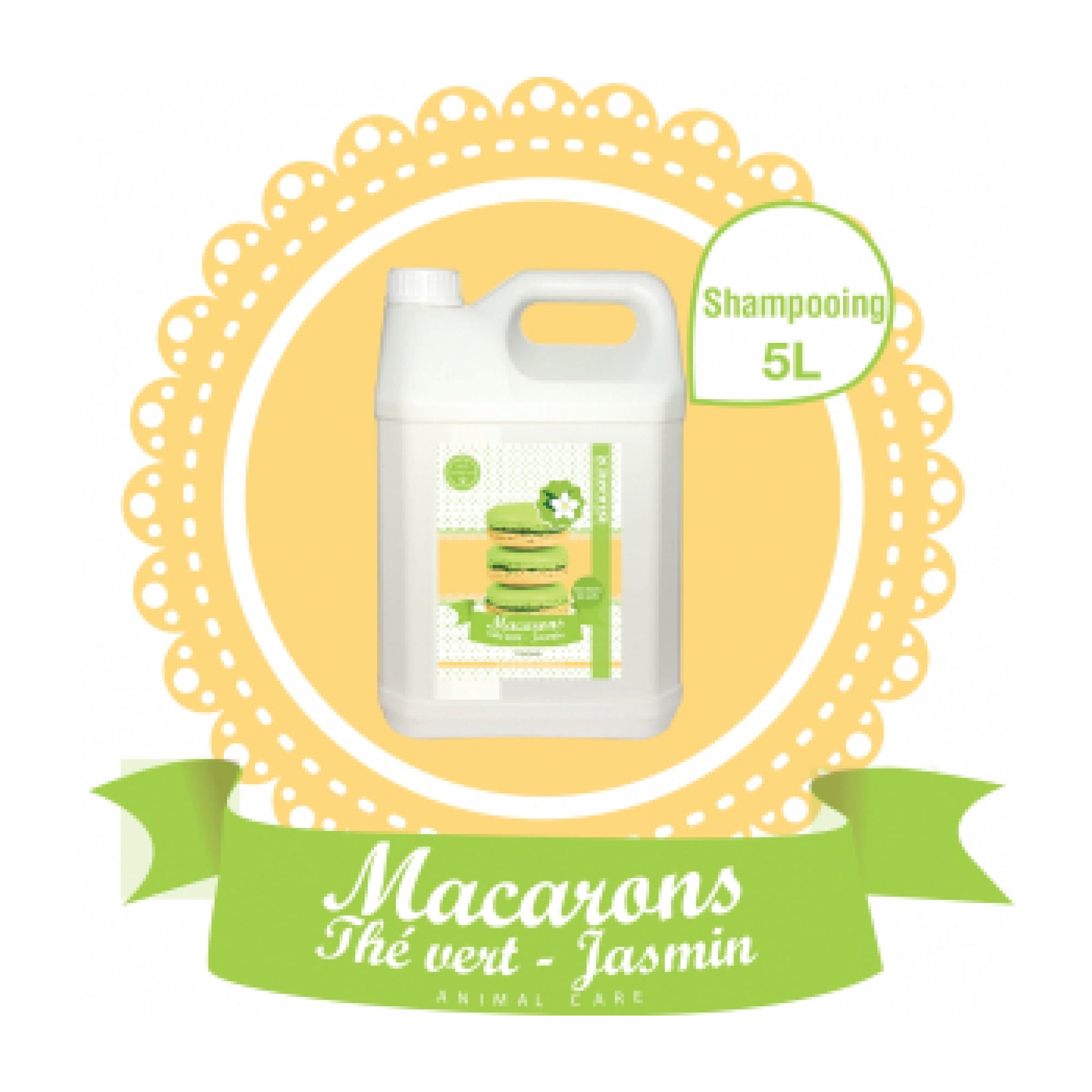Shampooing Diamex macarons the vert-jasmin