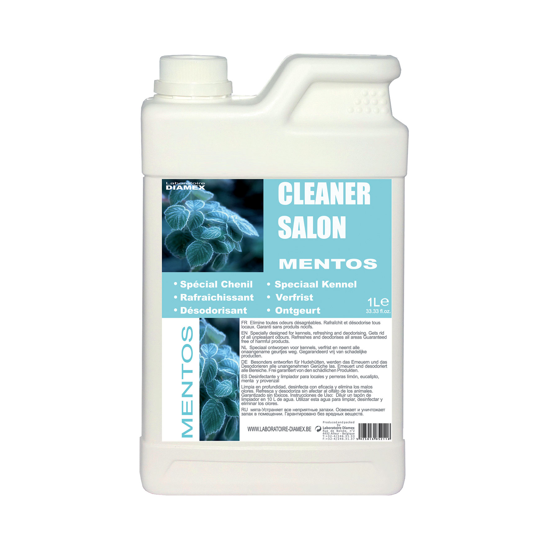 Nettoyant Diamex Cleaner Salon Mentos