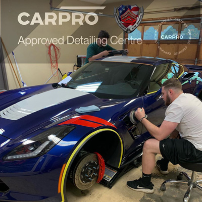 Car Detailing of Corvette
