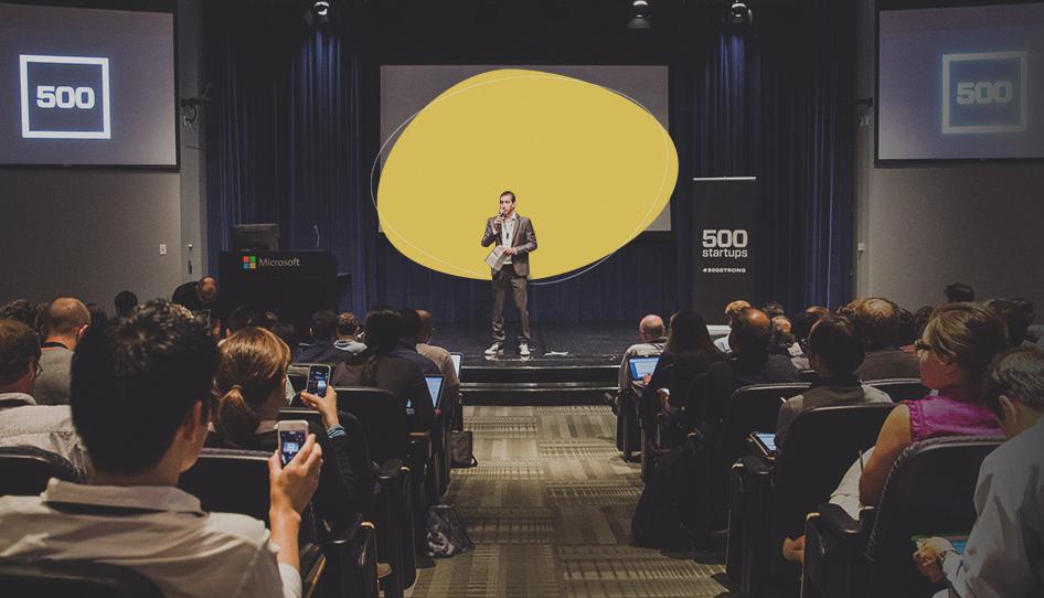 Startups Pitch Deck template, 500 startup template