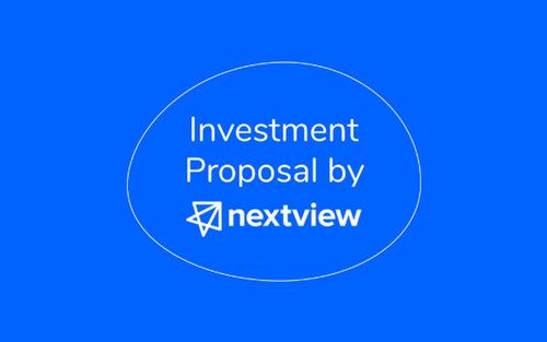 Investment Proposal Template by NextView Ventures