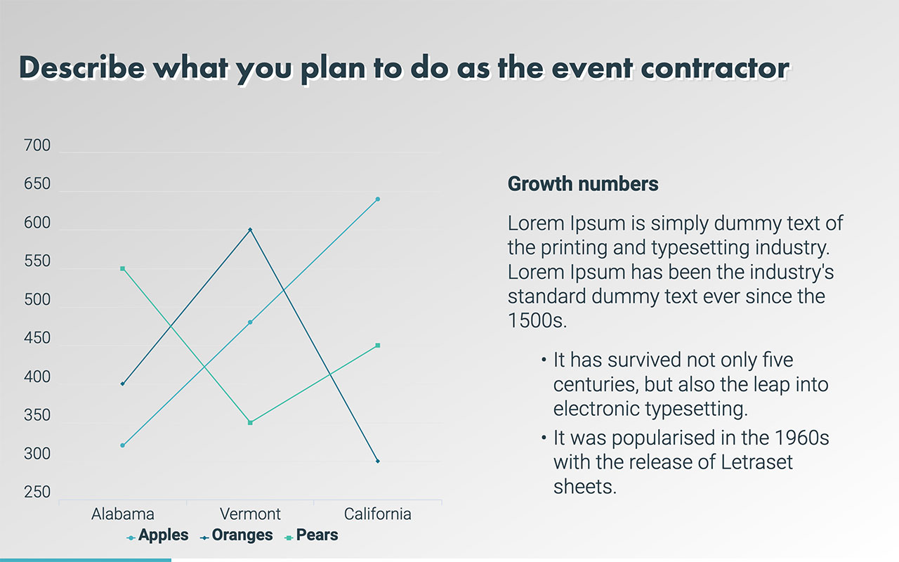 You Need A Strong Plan Of Action When Approach Company In The Hopes Working As Contractor At An Upcoming Event Proposal Template Gives