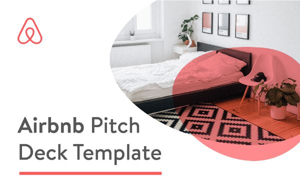 Airbnb pitch deck template thumbnail