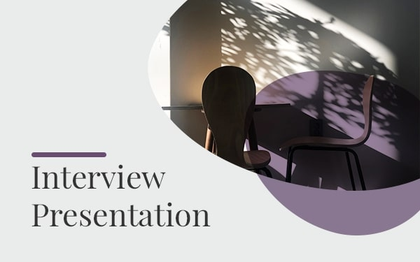 Interview Powerpoint template