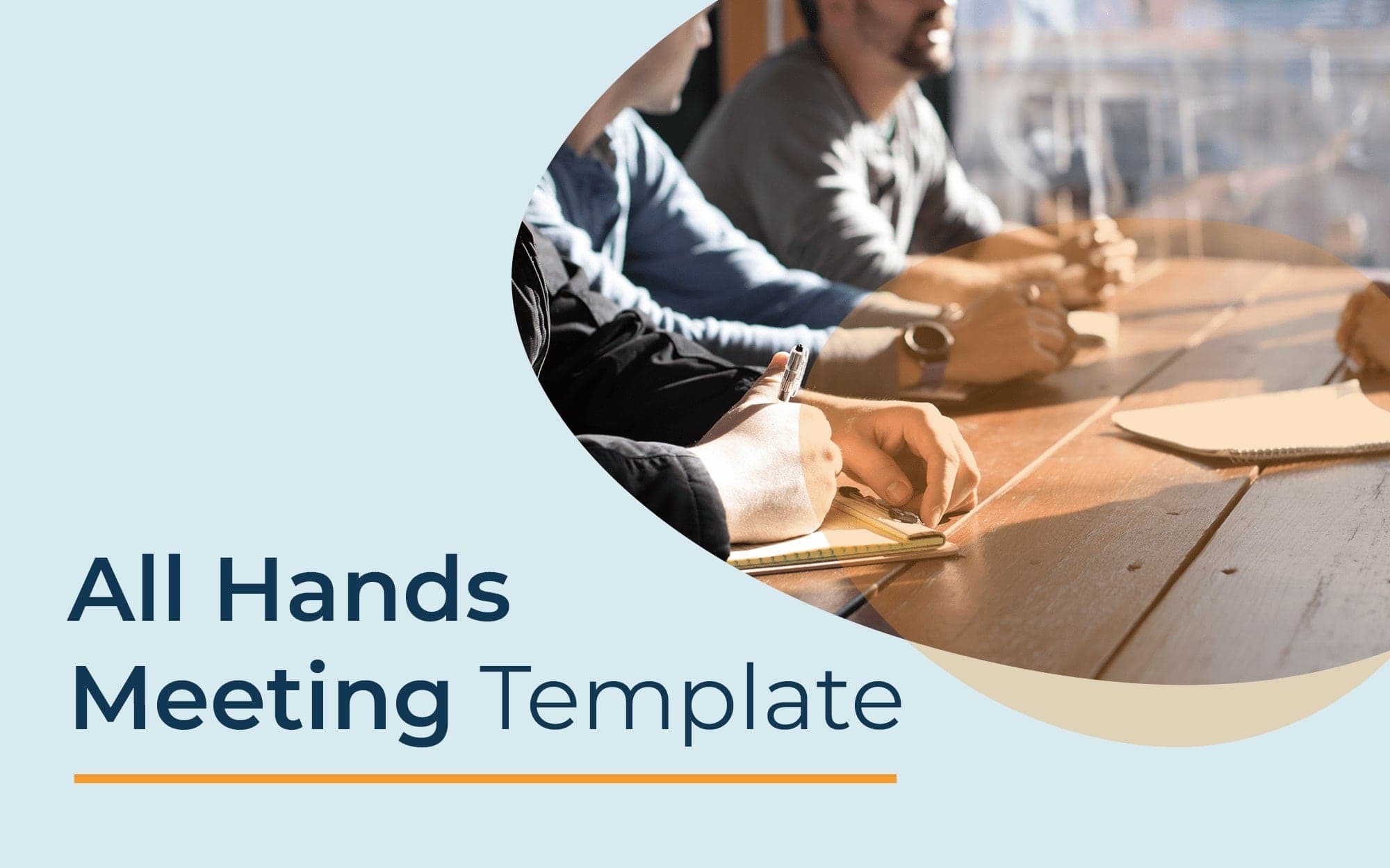 All hands meeting template