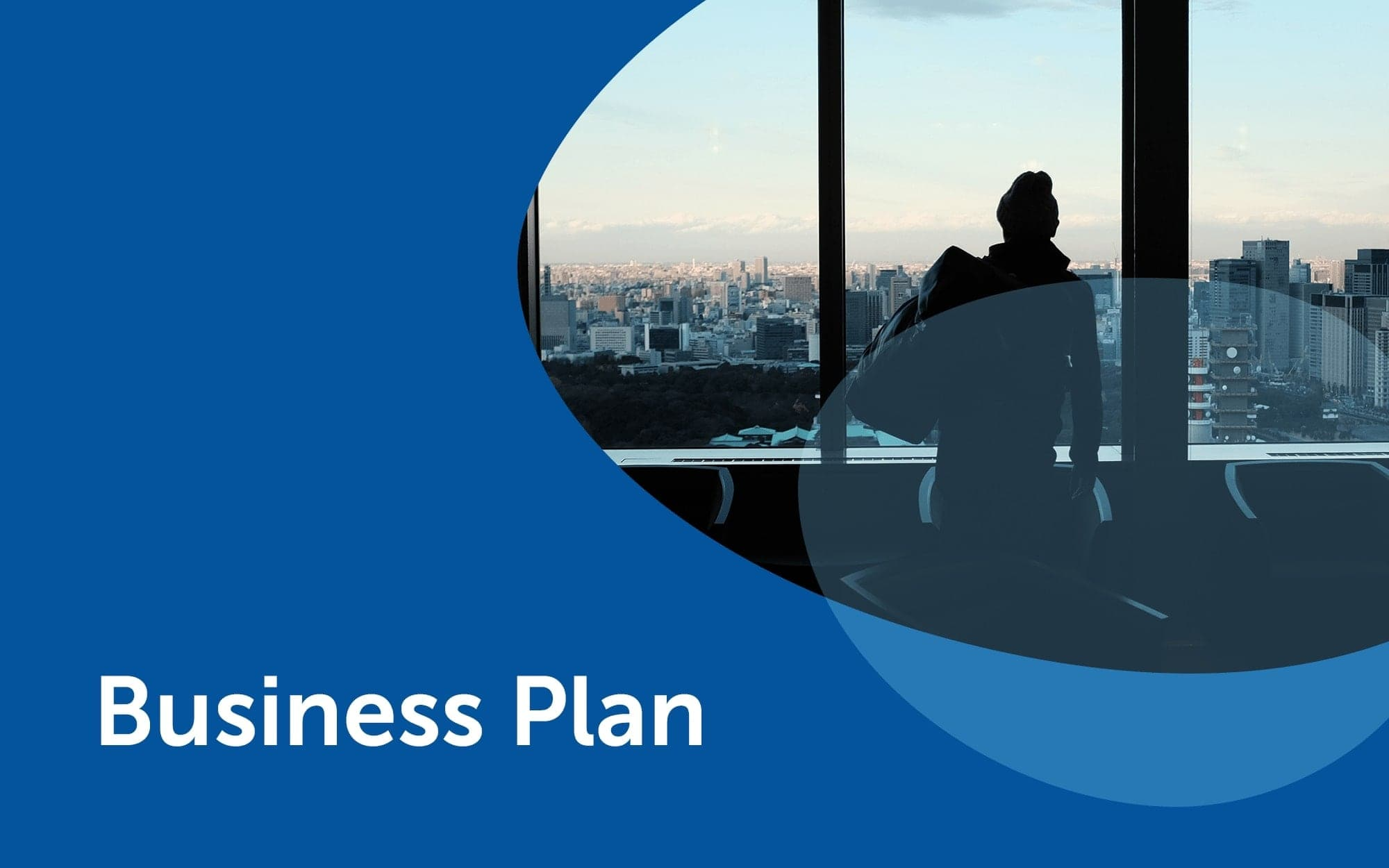 Business plan template team slide