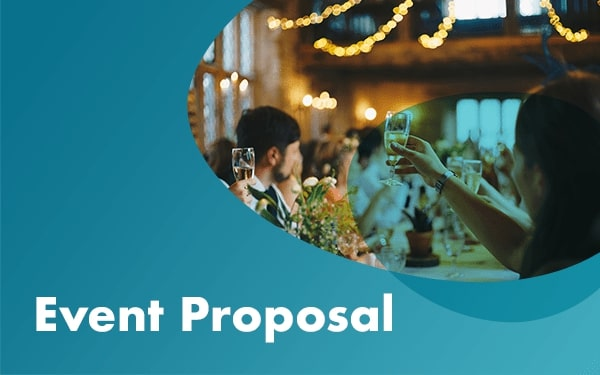 Event proposal template cover