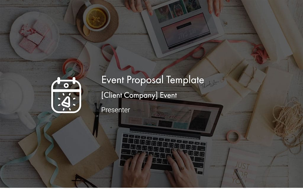 Event Proposal Template | Free PDF & PPT Download by Slidebean