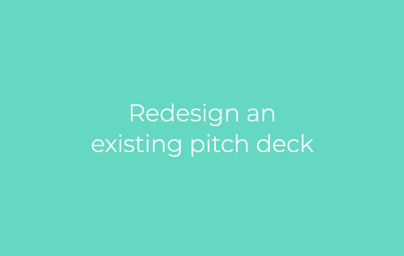 Presentation Redesign service