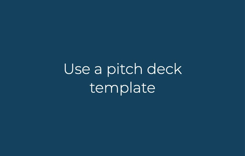 Slidebean pitch deck templates