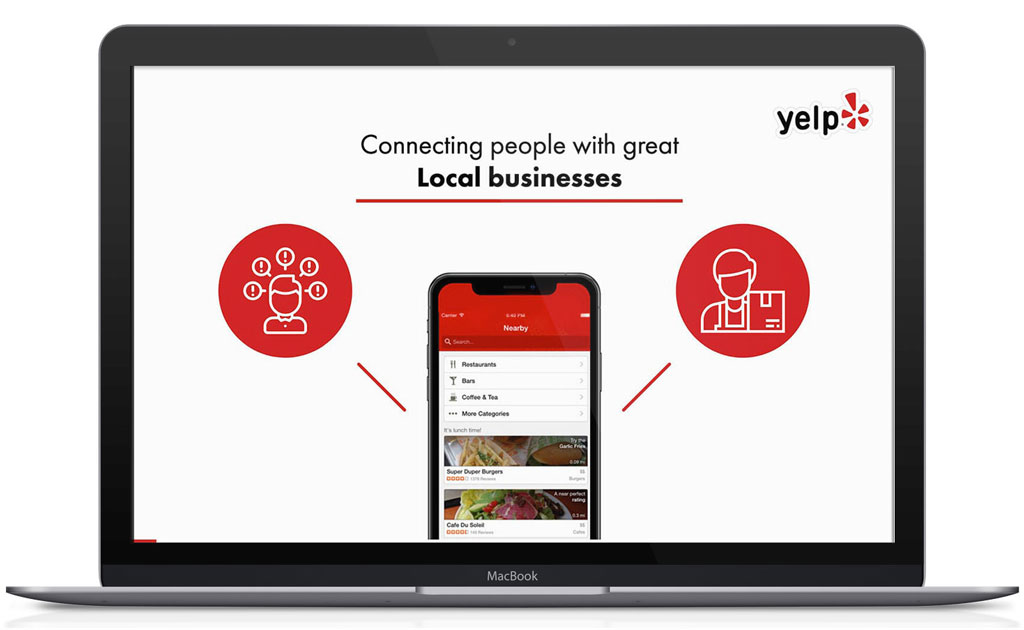 Yelp pitch deck template
