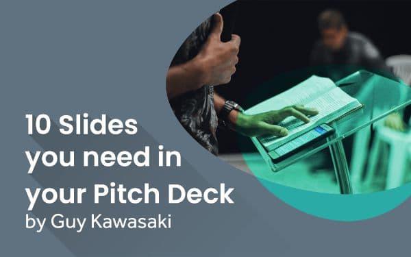 Startups pitch deck template, guy kawasaki