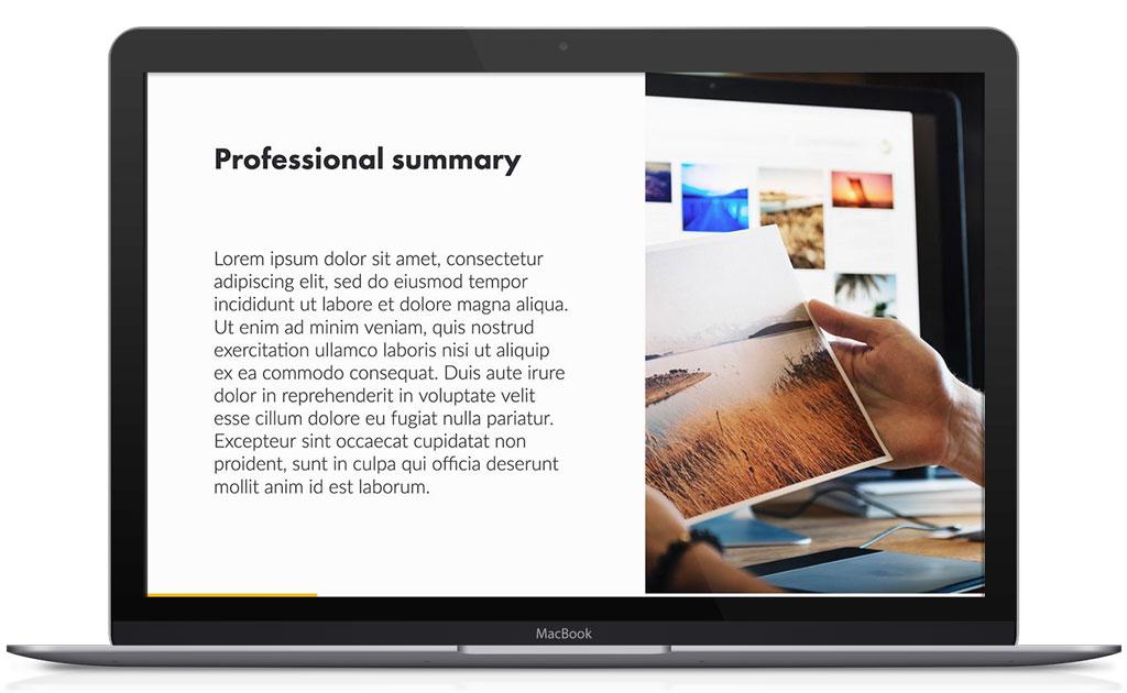 Resume Ppt | Resume Presentation Template