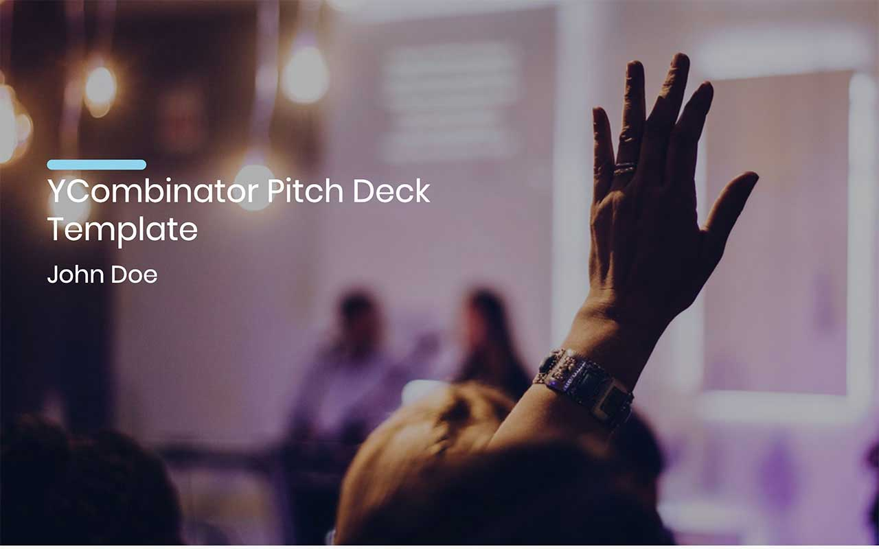 image contains a pitch deck slide