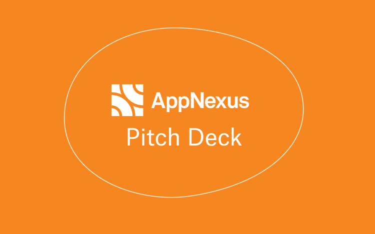 AppNexus Pitch Deck