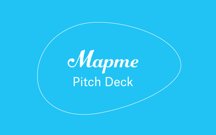 Mapme Pitch Deck