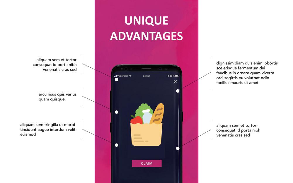 Presentation slide redesigned by Slidebean team