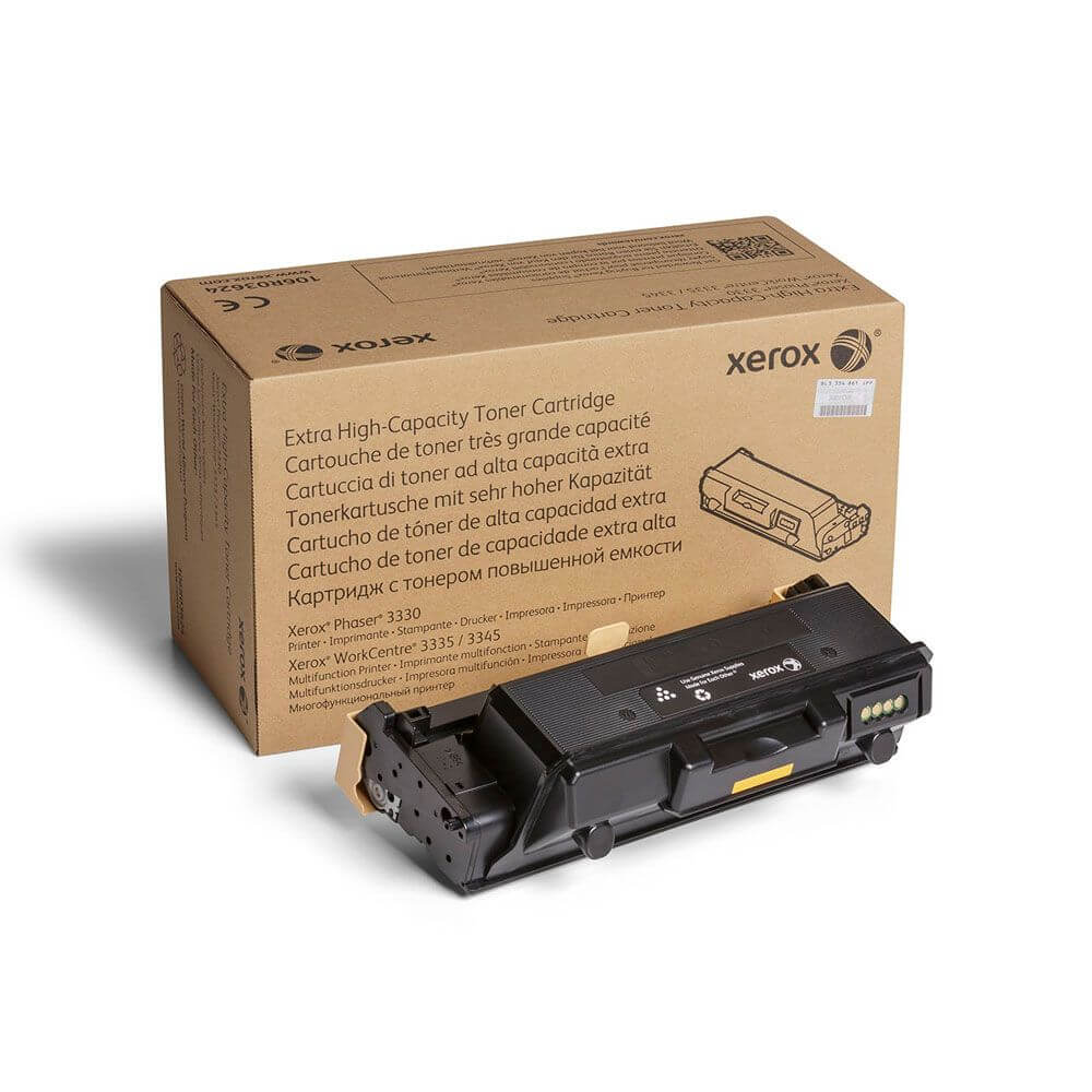 Phaser 3330, WorkCentre 3335/3345 Extra High Capacity Black Toner Cartridge
