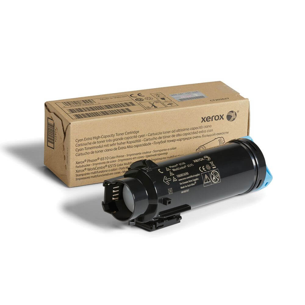 Phaser 6510/WorkCentre 6515 Cyan Extra High Capacity Toner Cartridge