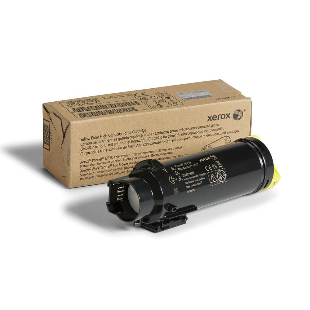 Phaser 6510/WorkCentre 6515 Yellow Extra High Capacity Toner Cartridge