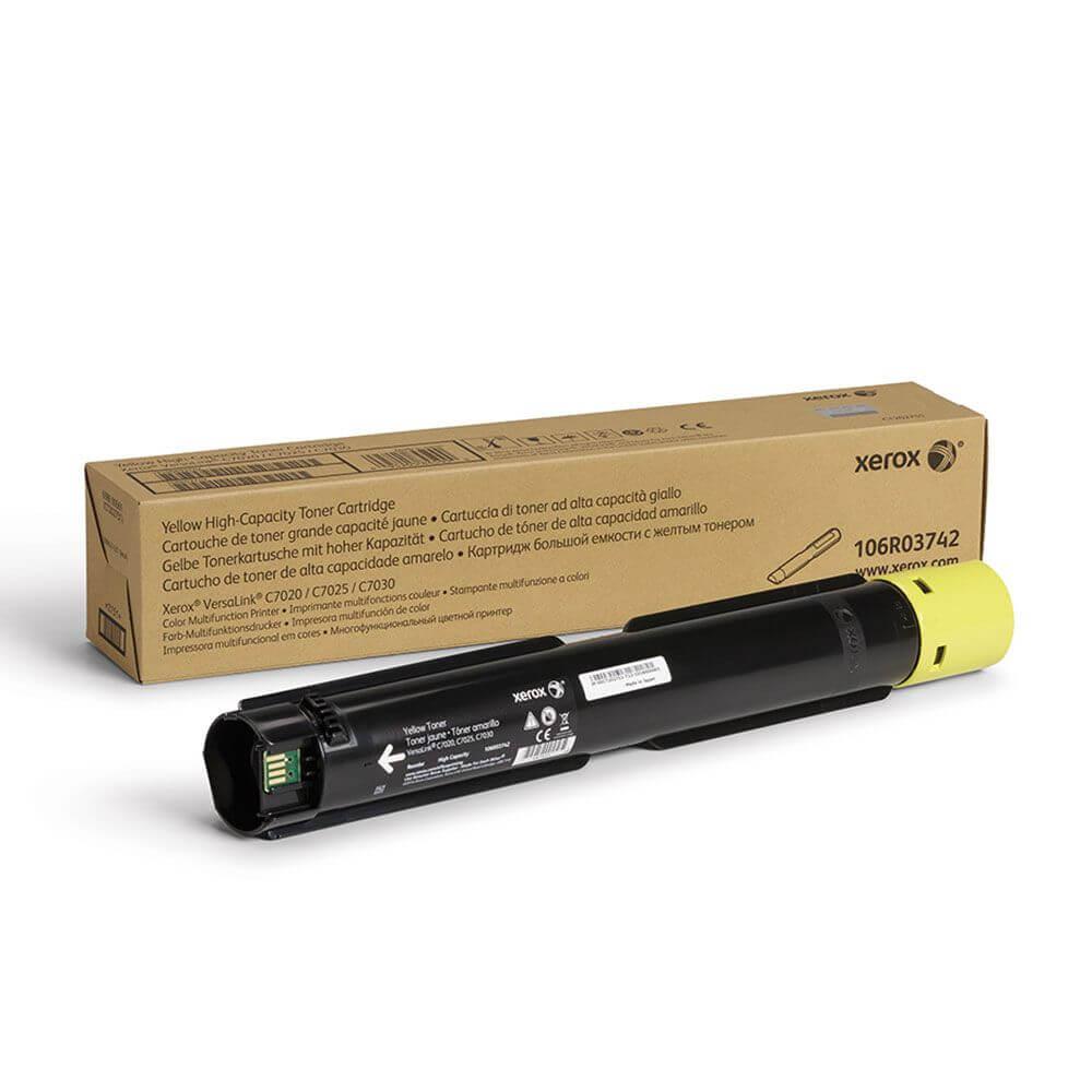 VersaLink C7020/C7025/C7030 Yellow High Capacity Toner Cartridge
