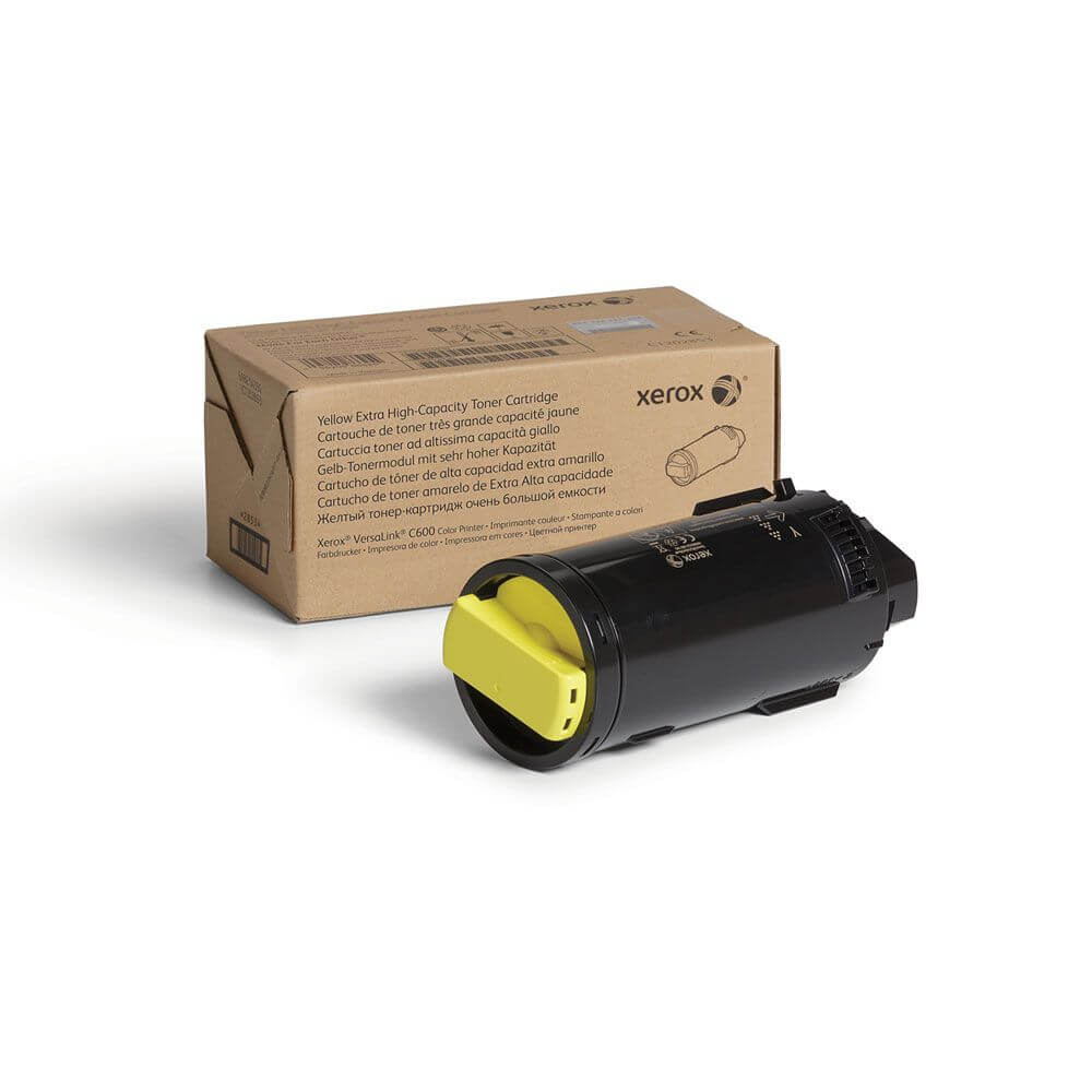 VersaLink C600 Yellow Extra High Capacity Toner Cartridge