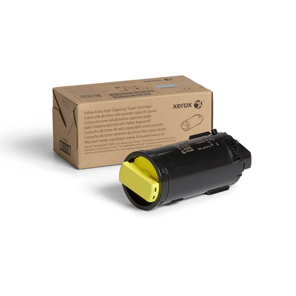 VersaLink C605 Yellow Extra High Capacity Toner Cartridge