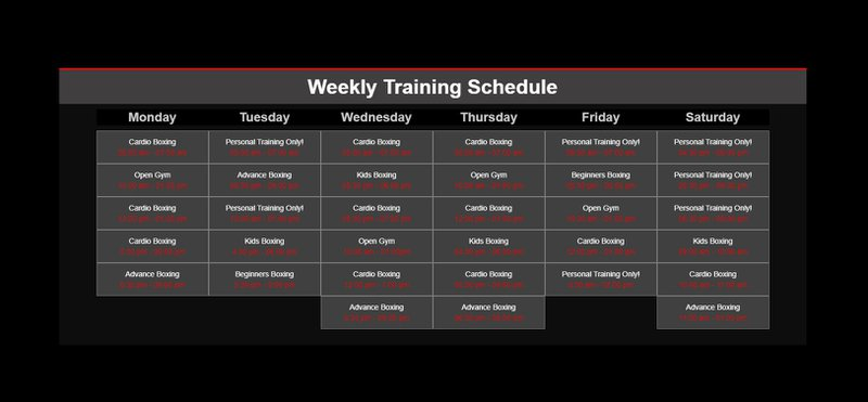 Webflow CMS | Changing a Gym Training Schedule