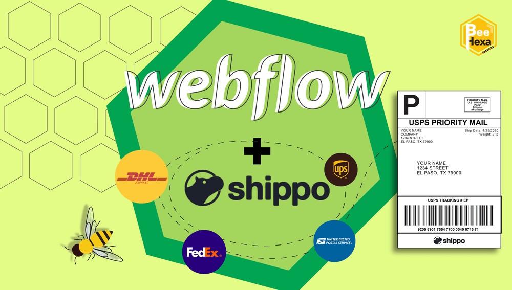 Webflow + Shippo: New Ecommerce Feature Integration