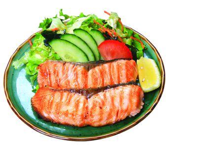 saumon grillée
