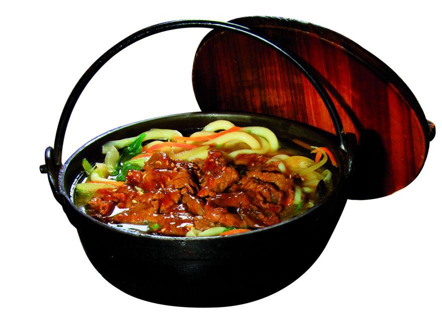 udon au boeuf et légumes
