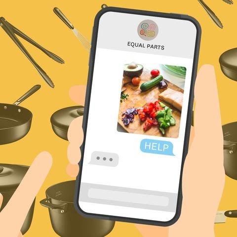 Equal Parts Will Make You Cook at Home with Its Text-Based Coaching Service