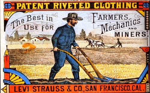 Old ads for Levi-Strauss Jeans (Levis) | MATTHEW'S ISLAND