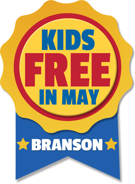 Kids Free May In Branson, Missouri