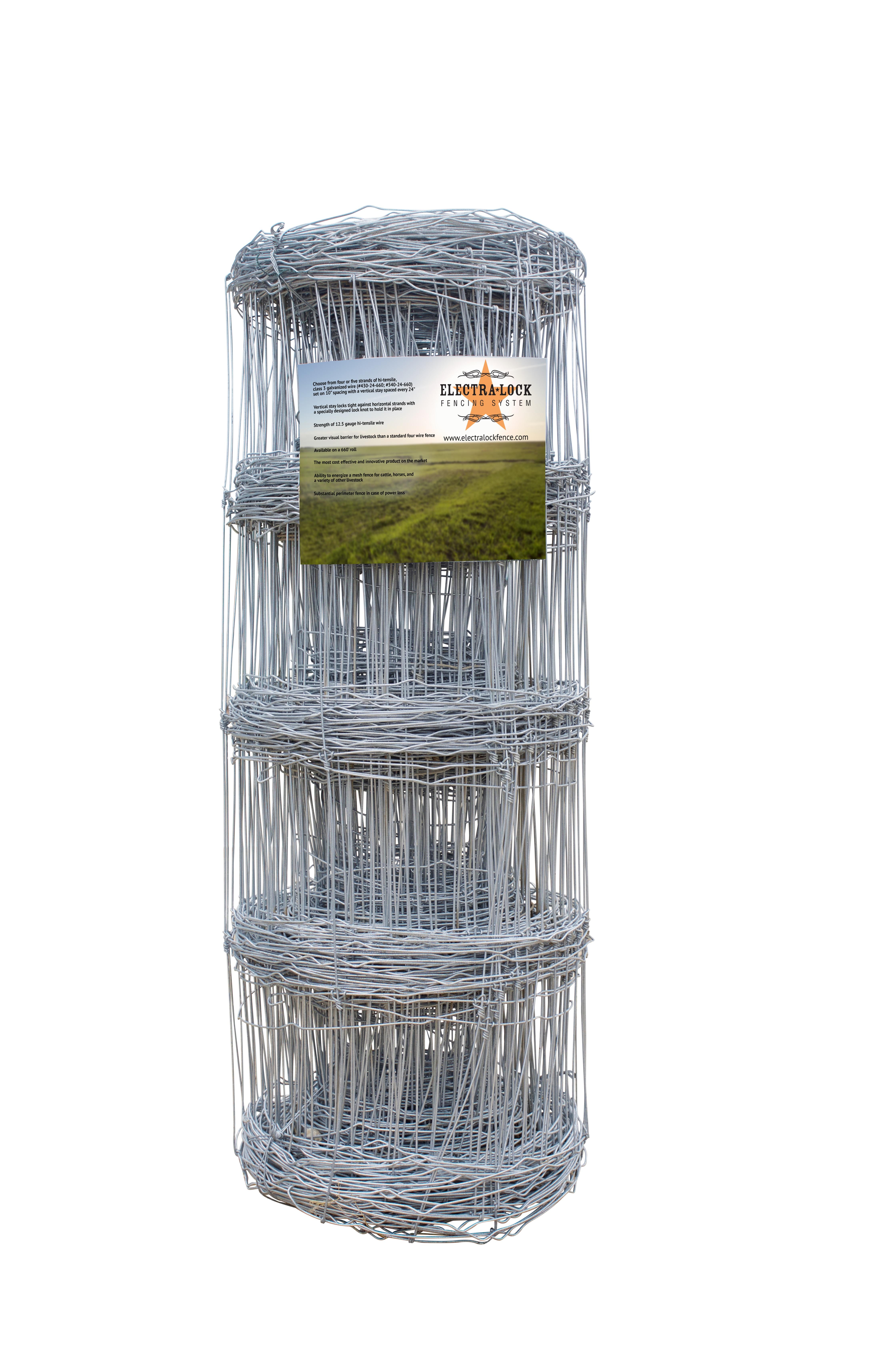 4-Strand Electra-Lock Fence Wire