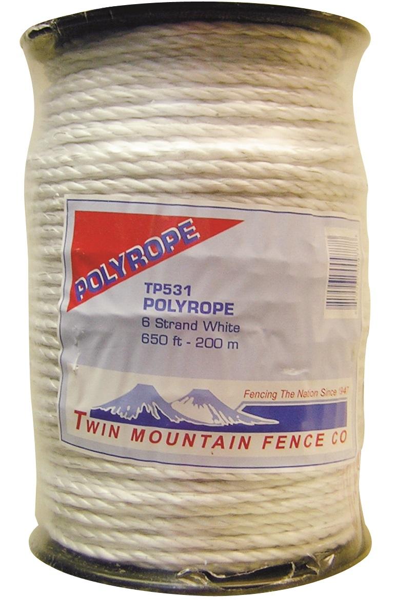 660' PolyRope - White