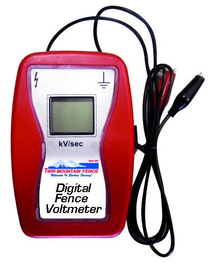 Digital Voltmeter w/ Ground Peg