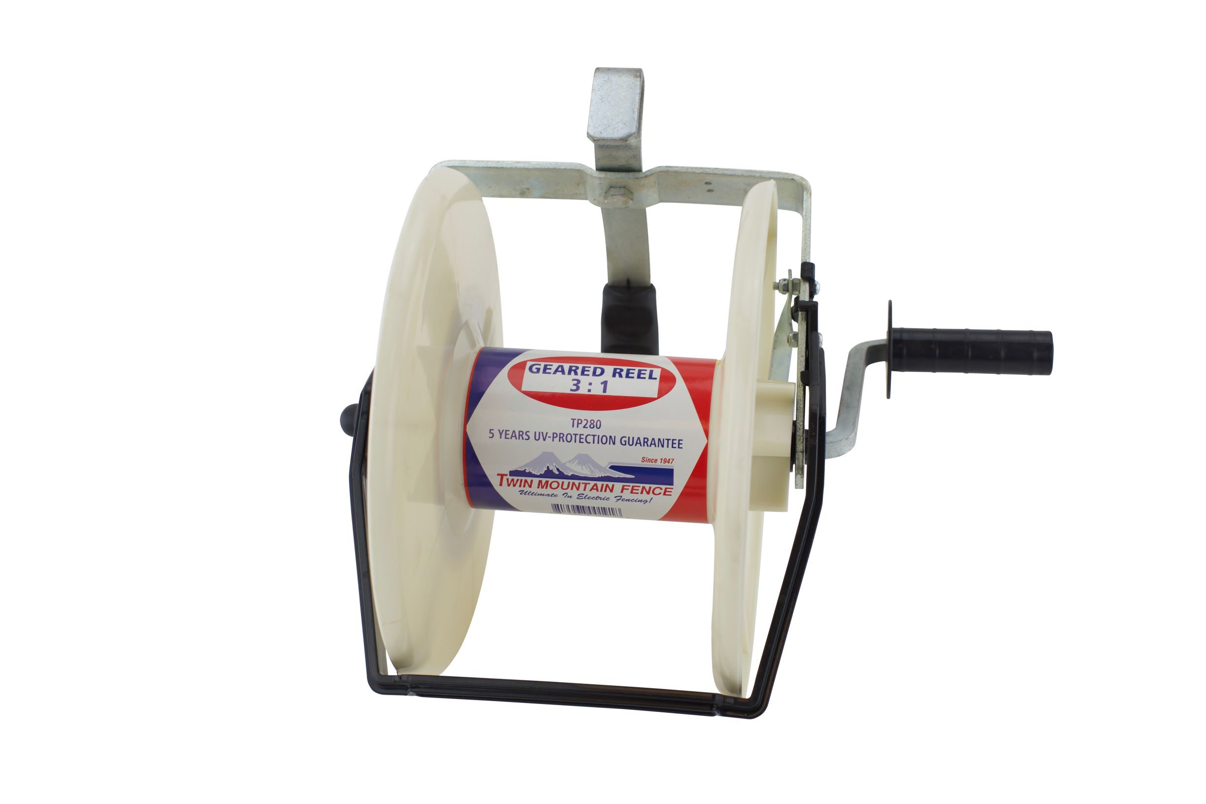 Large 3:1 Geared Portable Reel