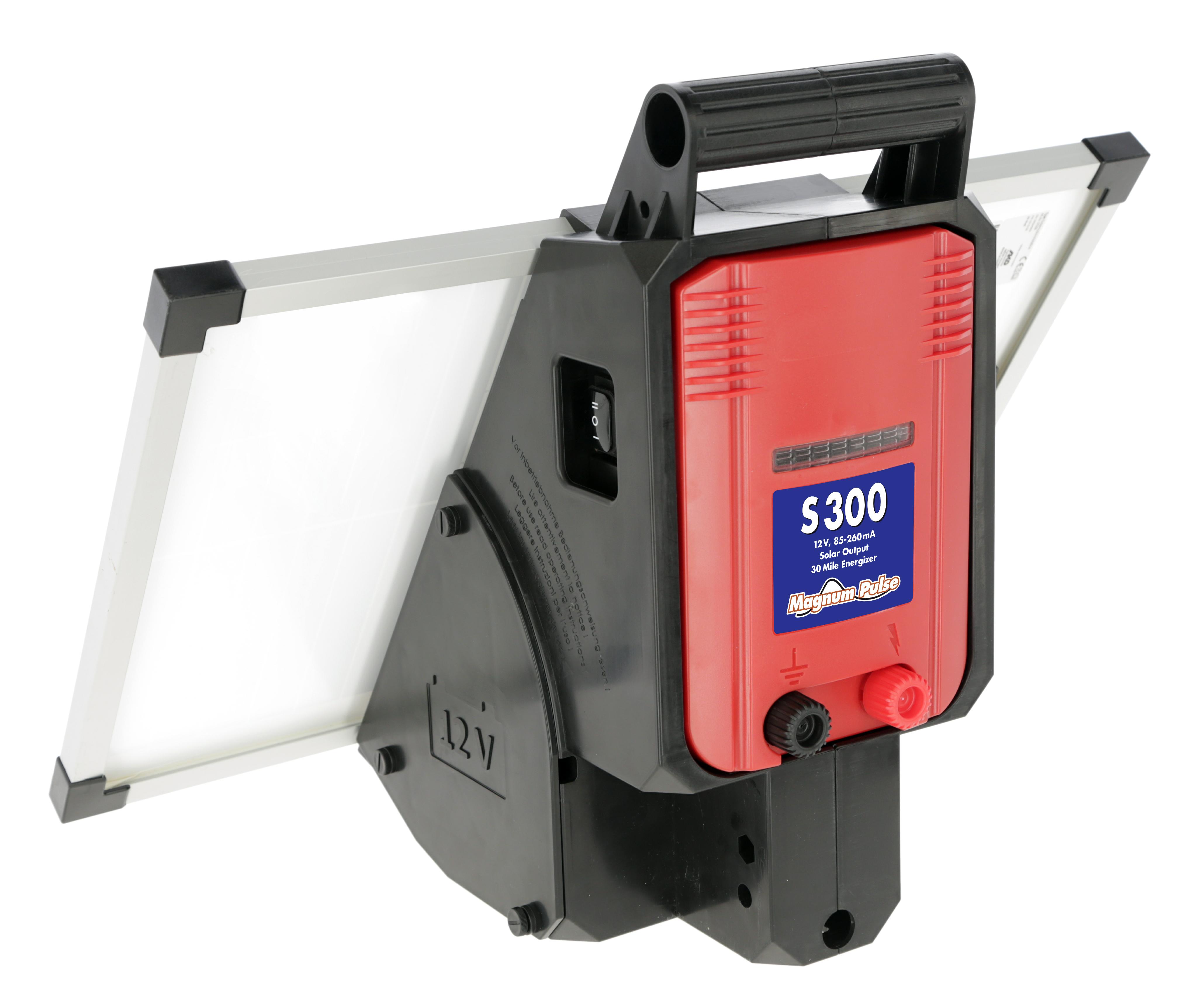 Magnum S300 Solar Powered Energizer