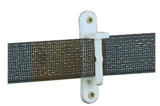 Wood Post Slot Insulator - White