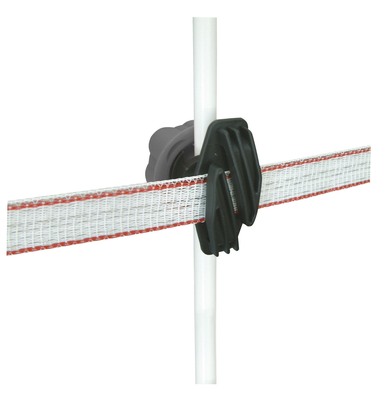 Rod Post Screw-On Insulator for Tape