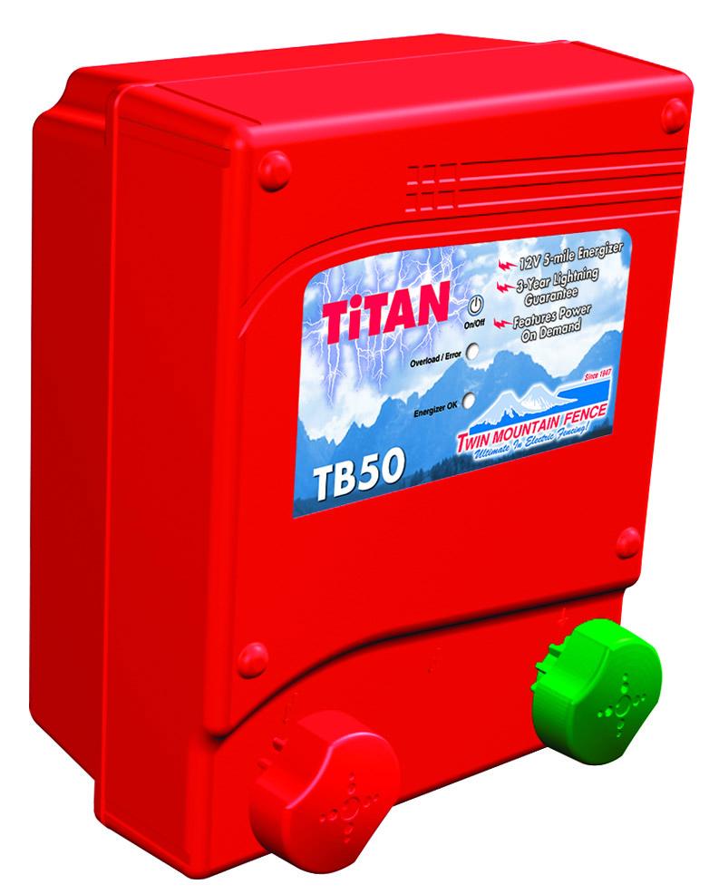 TiTan TB50 Battery Energizer