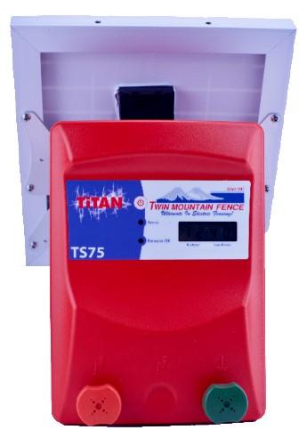 TiTan TS75 Solar Energizer