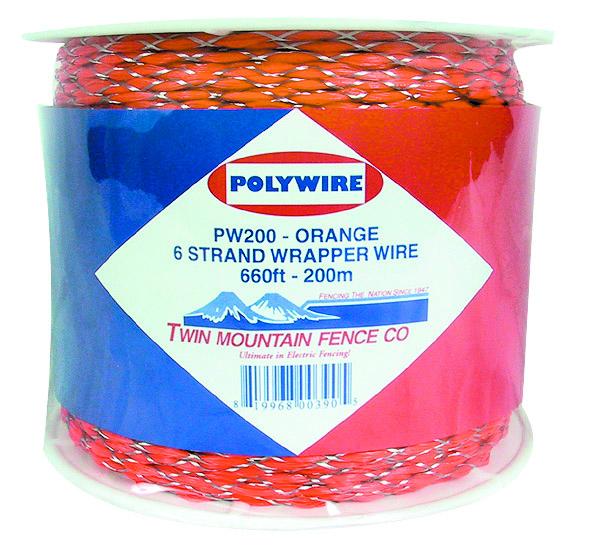 660' Wrapper Wire - Orange