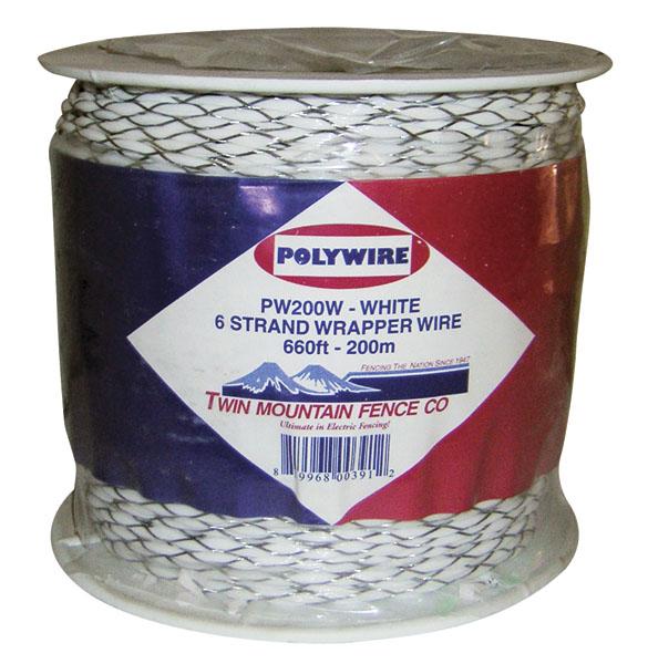 660' Wrapper Wire - White
