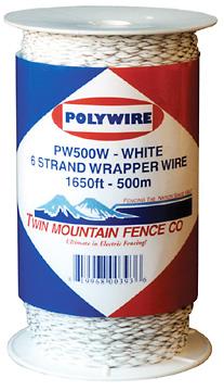 1,650' Wrapper Wire - White
