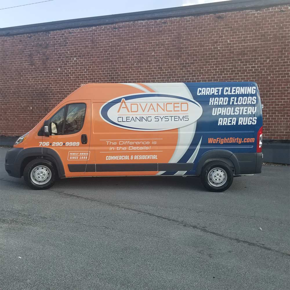 Advanced Cleaning Systems Van