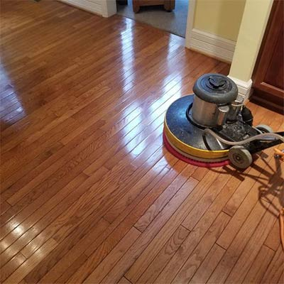 Hard surface floor cleaning in Cartersville, GA