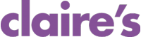Claire's logo with link to store detail page