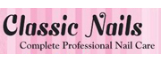 Classic Nails logo with link to store detail page